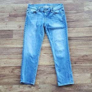 7 For All Mankind Size 28 Crop Straight Leg